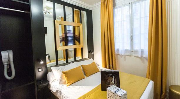 PRATIC HOTEL à 38 chambres magnifique au centre de paris